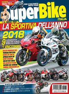 Copertina SuperBike Italia Luglio 2018: La Sportiva dell'Anno 2018