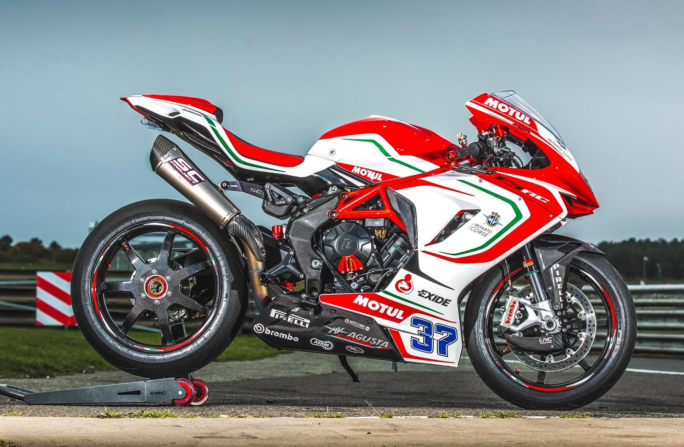 La Moto del Mese: MV Agusta F3 RC