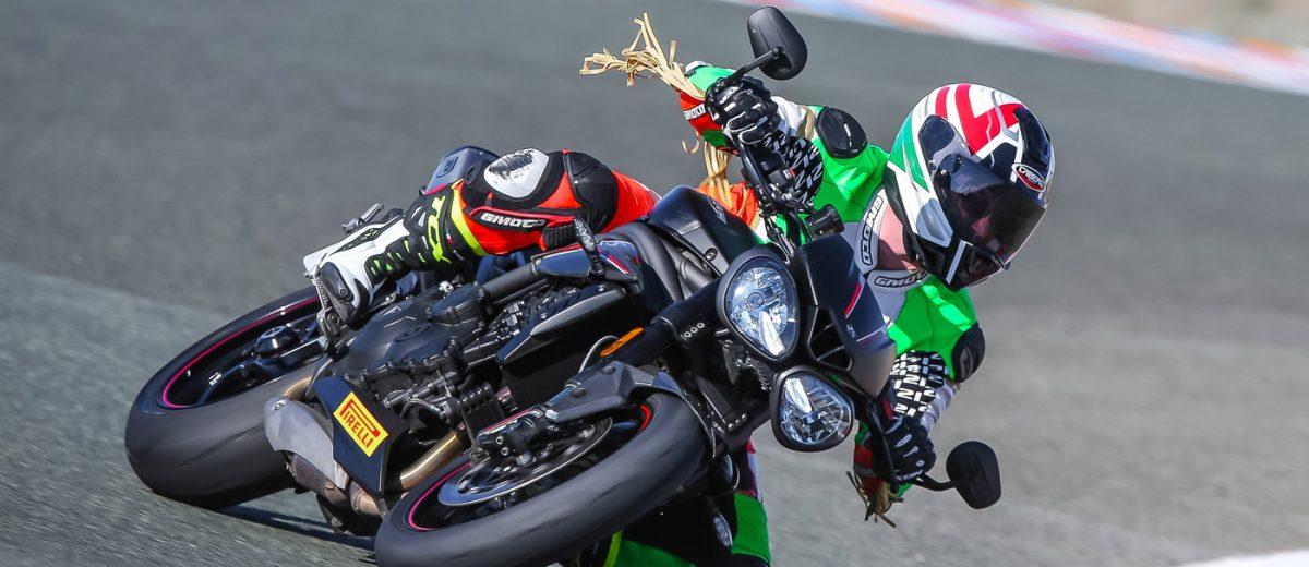 Prova di Durata Triumph Speed Triple RS