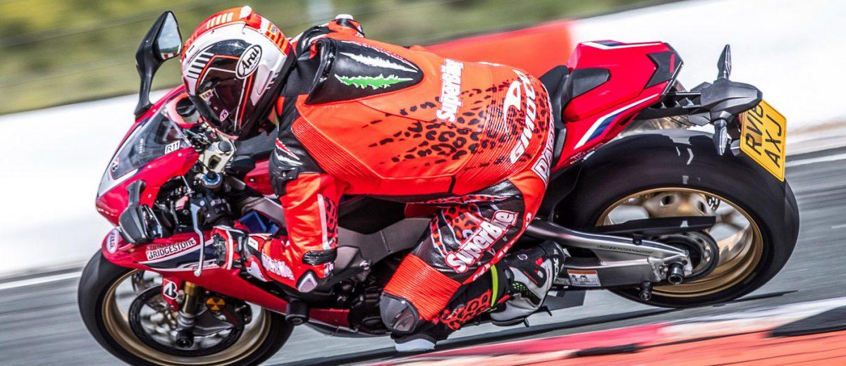 Honda CBR1000RR Fireblade SP in piega