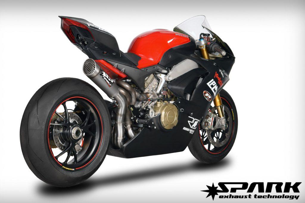 Il grid-o montato su una Ducati Panigale V4