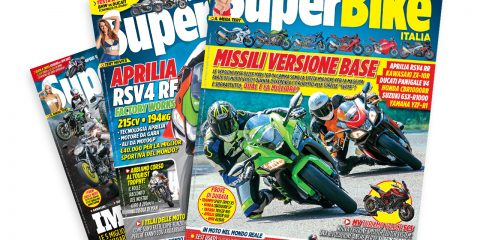 Abbonamento annuale a SuperBike Italia: copertine