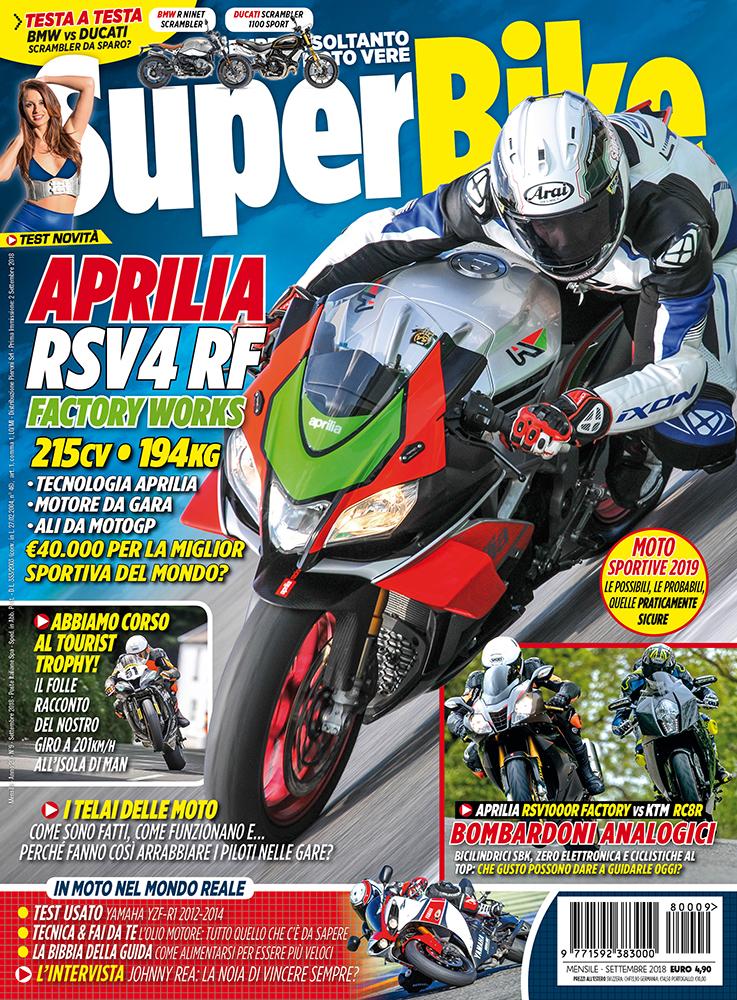 SuperBike Italia di Settembre 2018