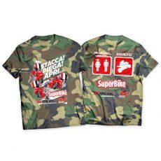 La t-shirt di SuperBike in versione camo