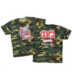 """T-shirt """"Problema... Risolto!"""" in versione camo"""