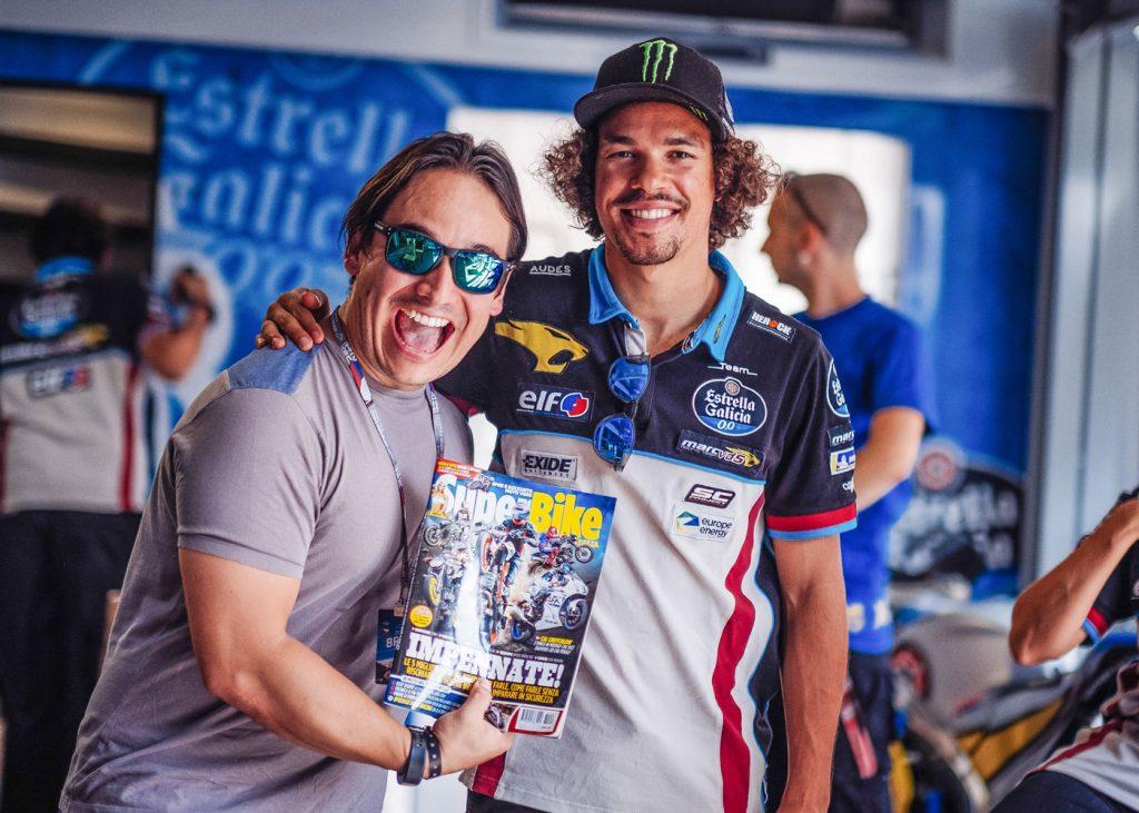 Morbidelli con il nostro Angelo Acosta e SuperBike Italia