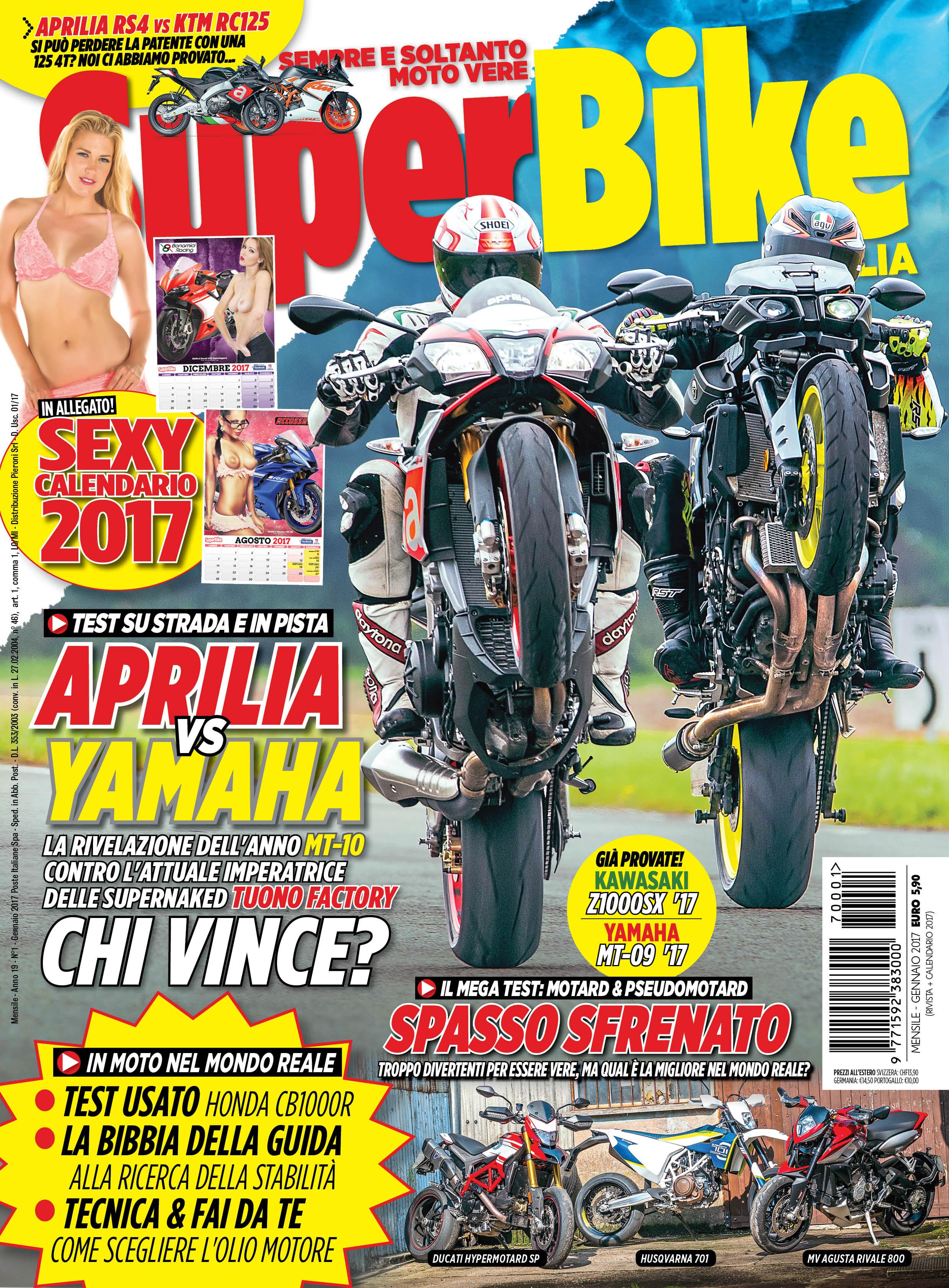 SuperBike Italia – Gennaio 2017
