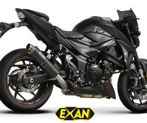 Exan X-GP in carbonio per Suzuki GSX-S750
