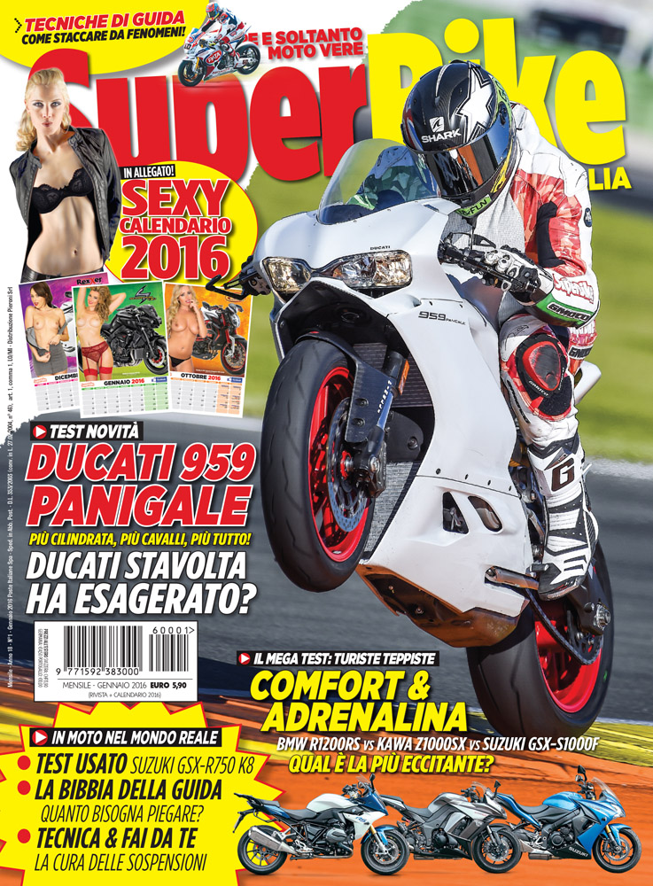 SuperBike Italia di gennaio 2016