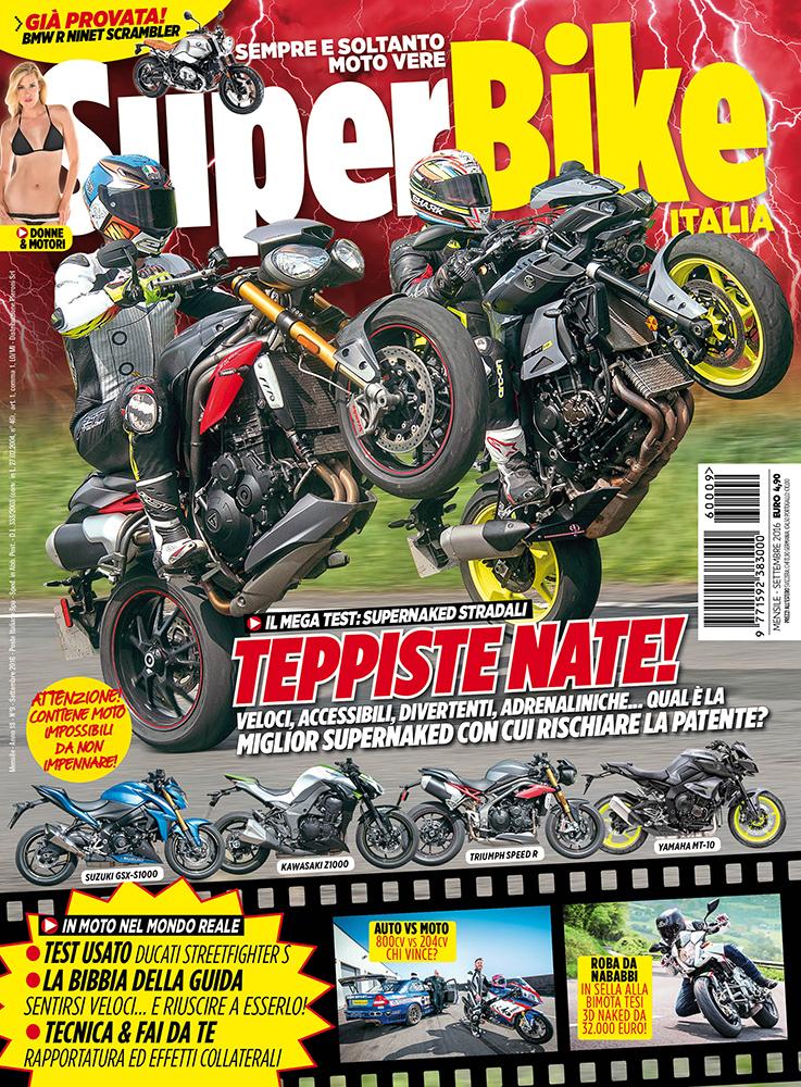 SuperBike Italia di settembre 2016
