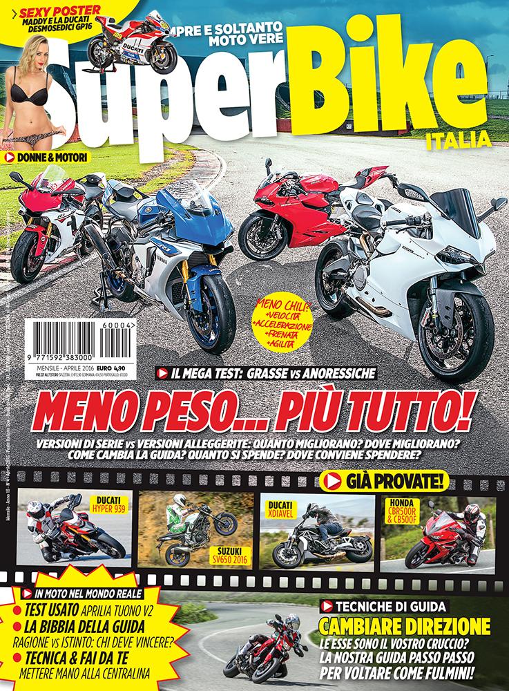 SuperBike Italia di aprile 2016