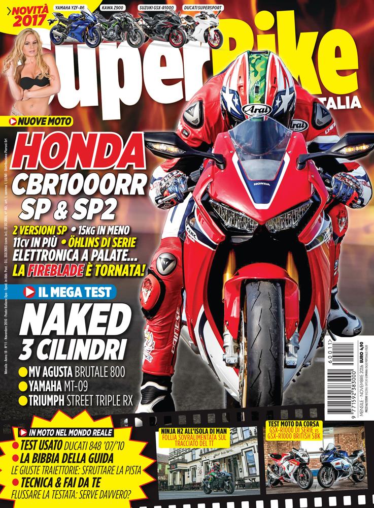 SuperBike Italia di novembre 2016
