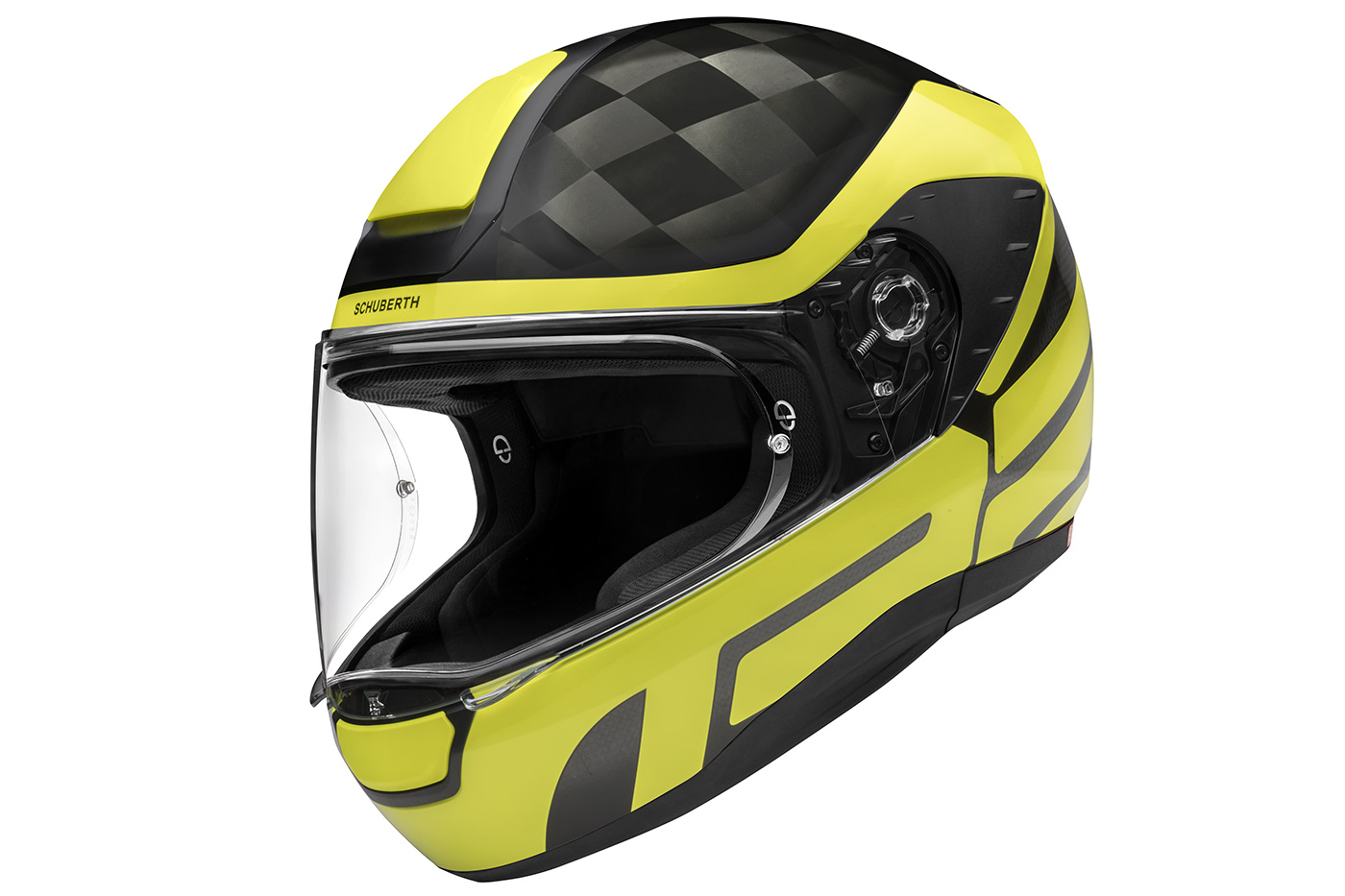 Schuberth R2 Carbon Cubature Yellow