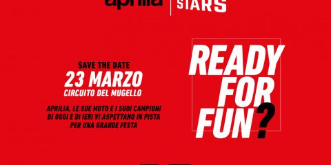 Aprilia All Stars: la locandina dell'evento