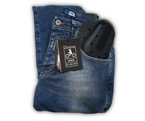 Jeans PMJ omologati AAA secondo la EN 17092