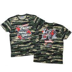 """T-shirt """"Decollo!"""" in versione camo"""