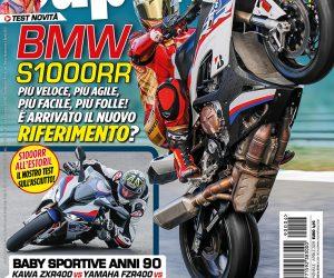 La copertina di SuperBike Italia di aprile 2019