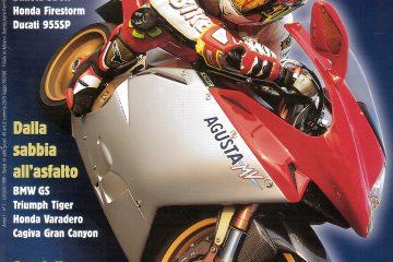 La prima copertina di SuperBike: luglio '99