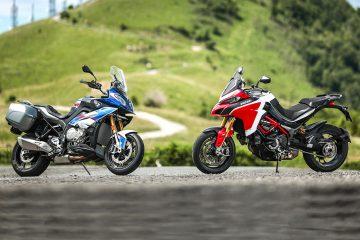 Ducati Multistrada 1260 Pikes Peak e BMW S1000XR pronte alla sfida