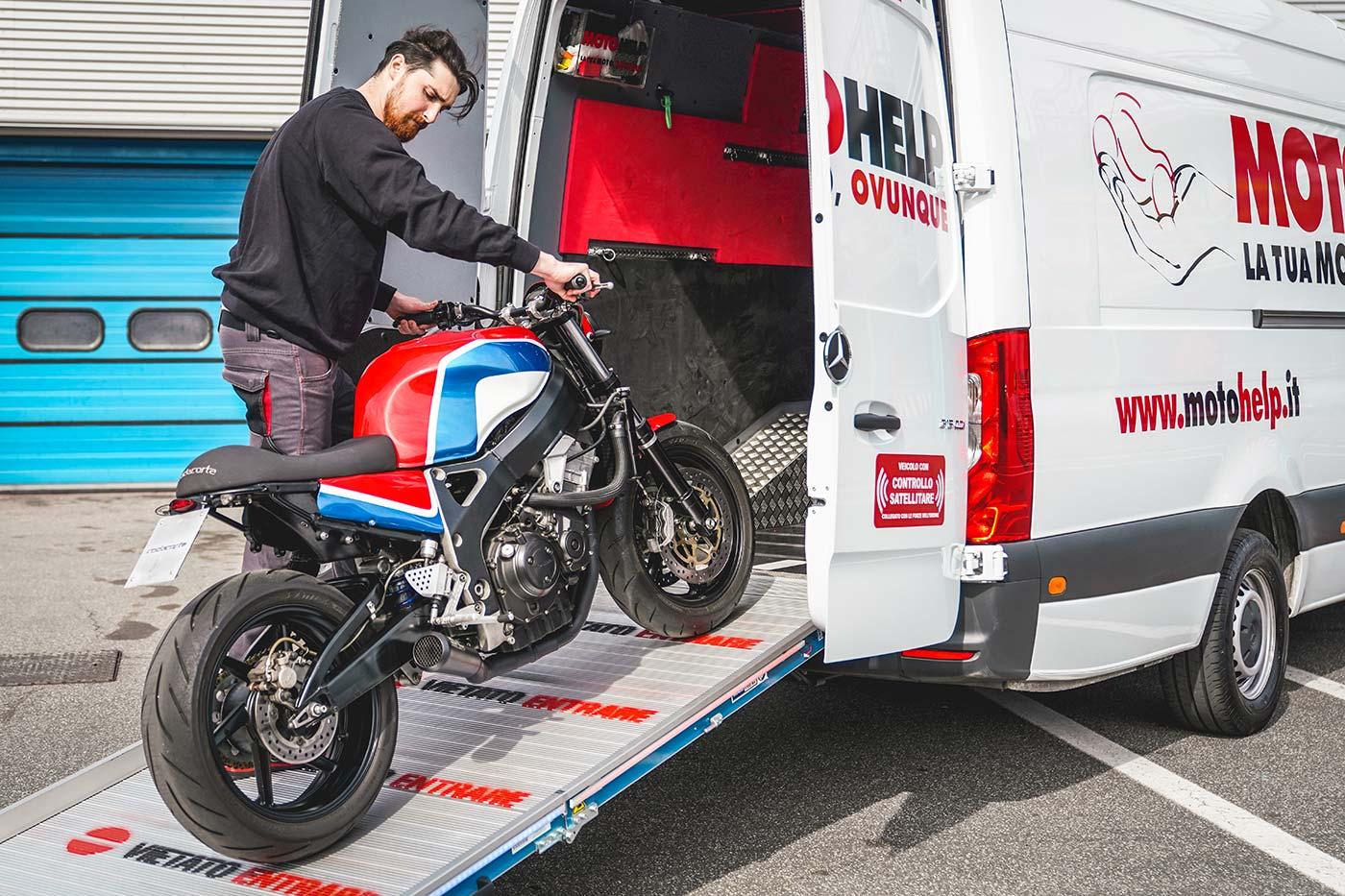 Motohelp - servizio di trasporto moto