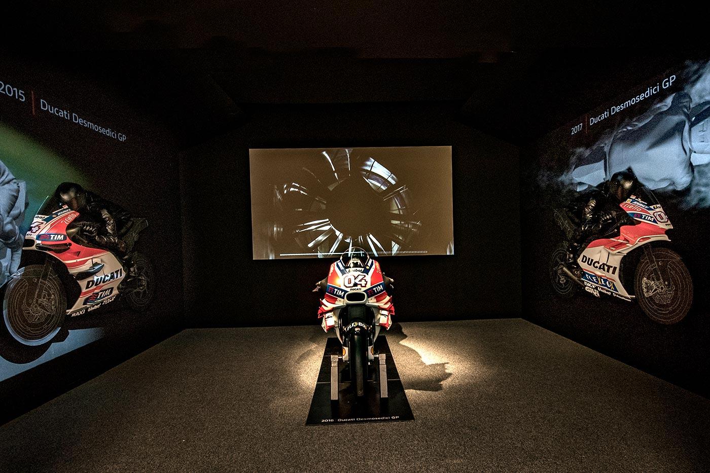"""Mostra Ducati """"Anatomia della Velocità"""""""
