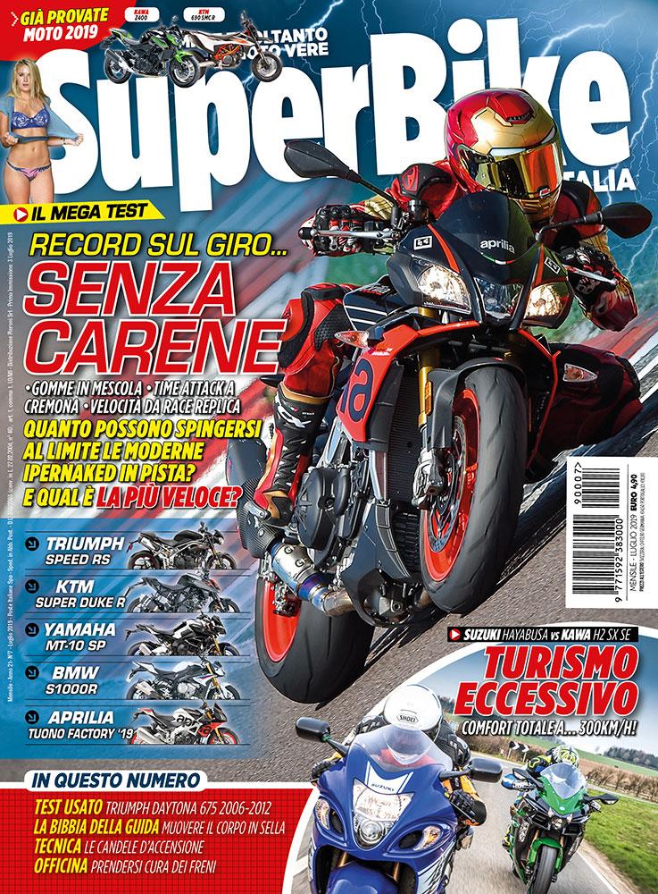SuperBike Italia luglio 2019
