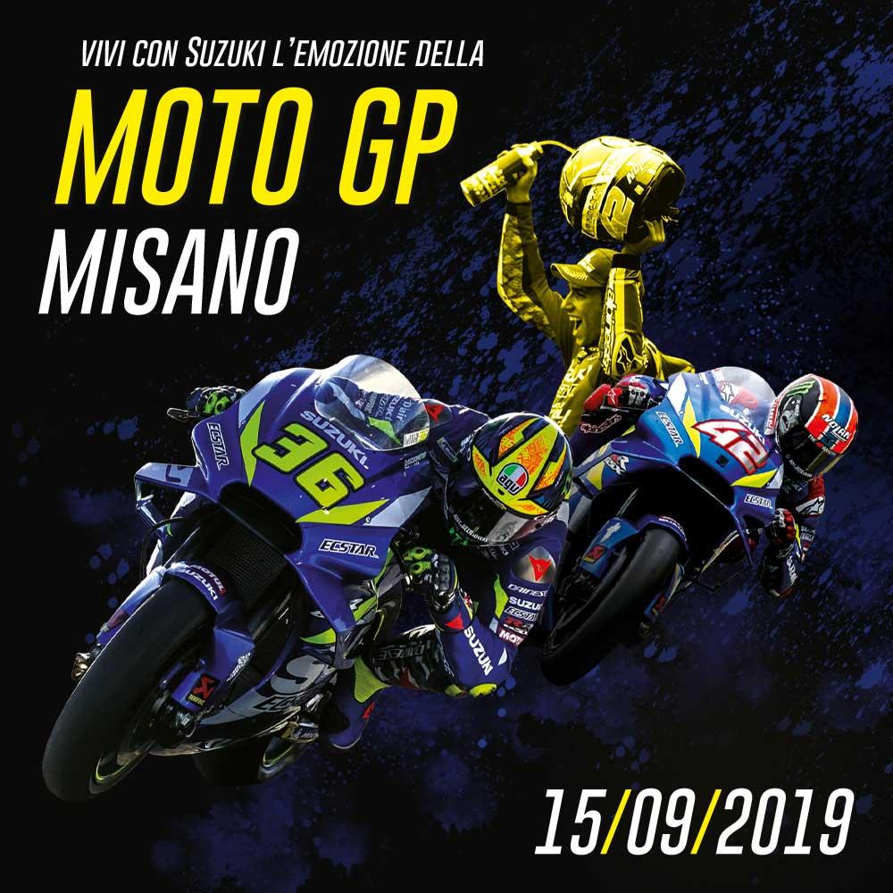 Tribuna Suzuki MotoGP Misano