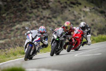 BMW S1000RR vs Ducati Panigale V4S vs Kawasaki ZX-10R SE