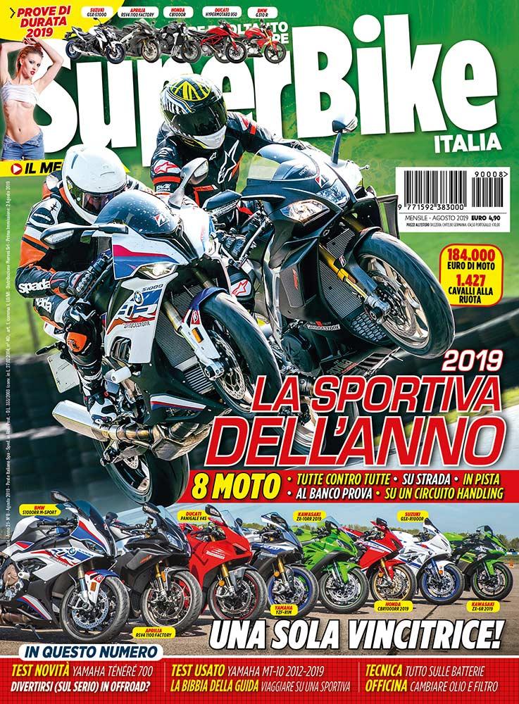 SuperBike Italia di agosto 2019