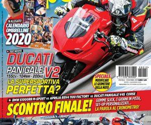 La copertina di SuperBike Italia di dicembre 2019