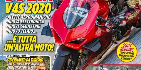 La copertina di SuperBike Italia di febbraio 2020