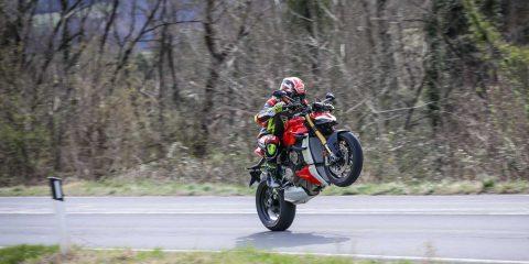 Prova Ducati Streetfighter V4S