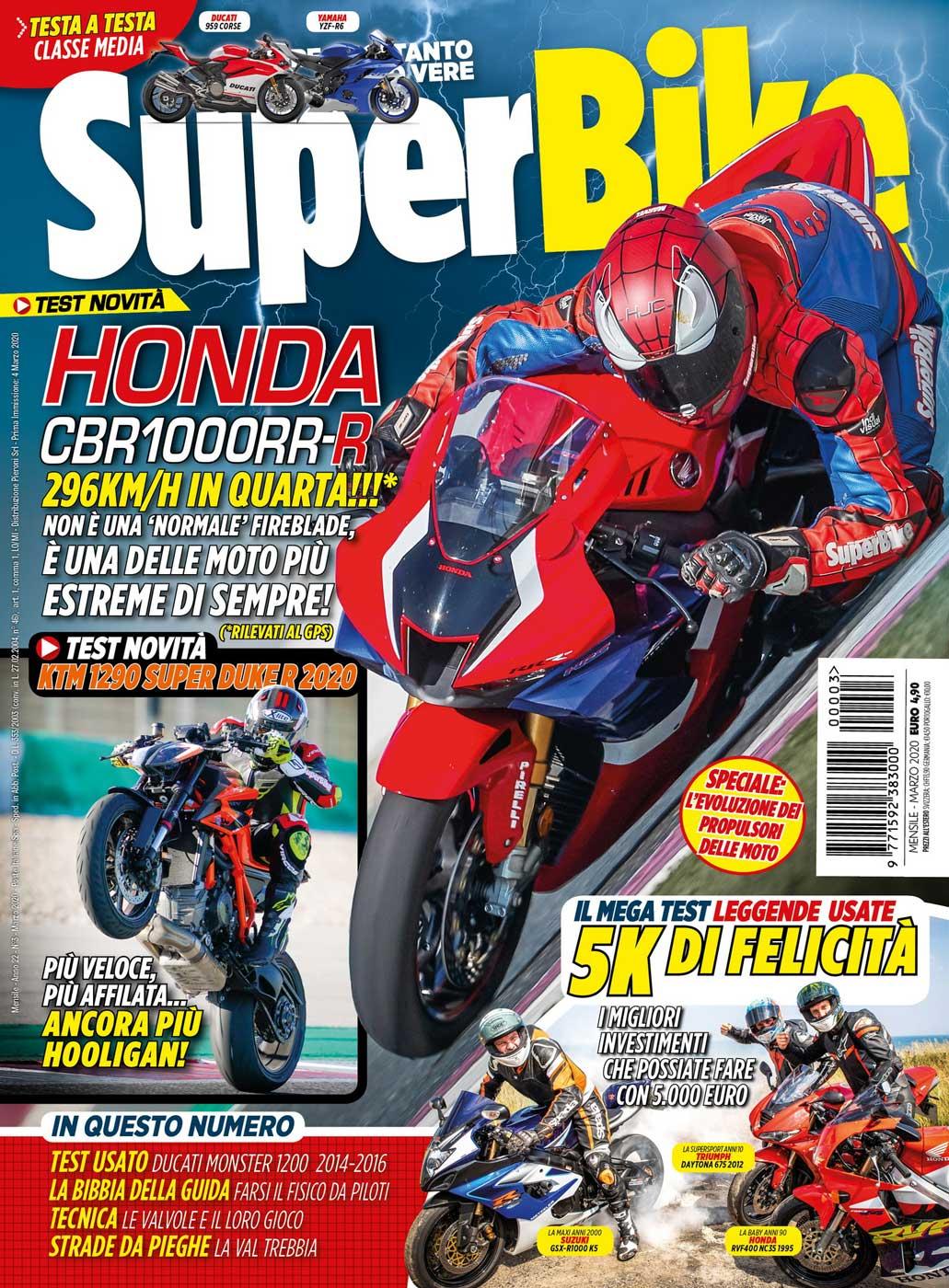 SuperBike Italia di marzo 2020