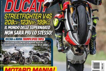 La copertina di SuperBike Italia di aprile 2020