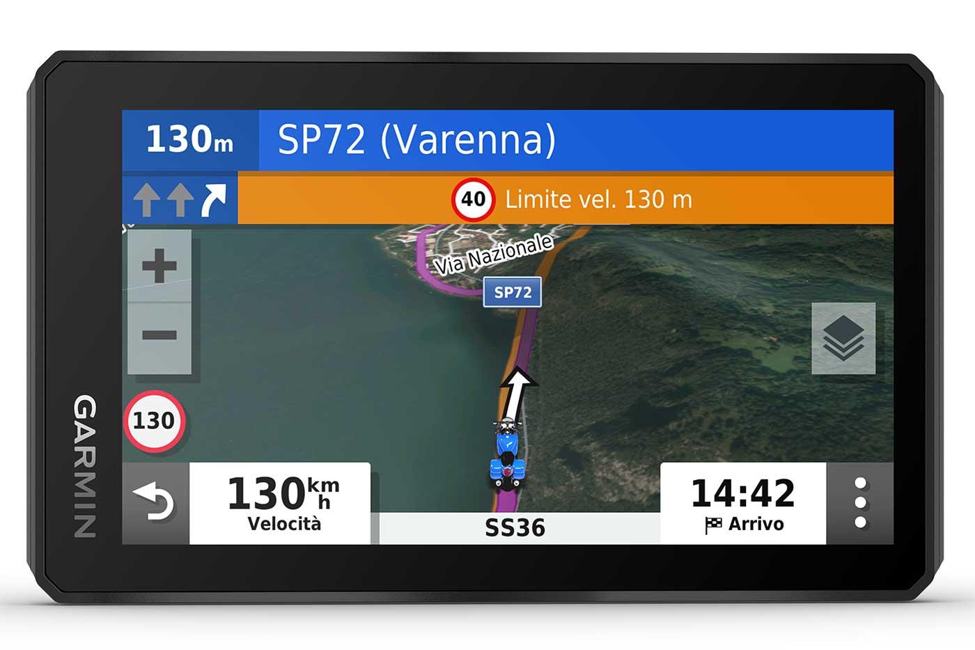 navigatore Garmin zumo XT