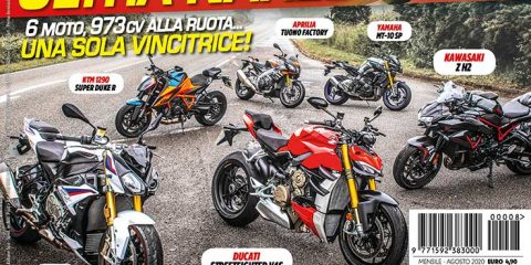 La copertina di SuperBike Italia di Agosto 2020