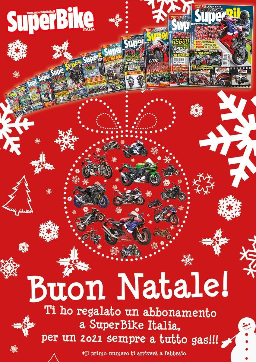 biglietto di Natale SuperBike Italia