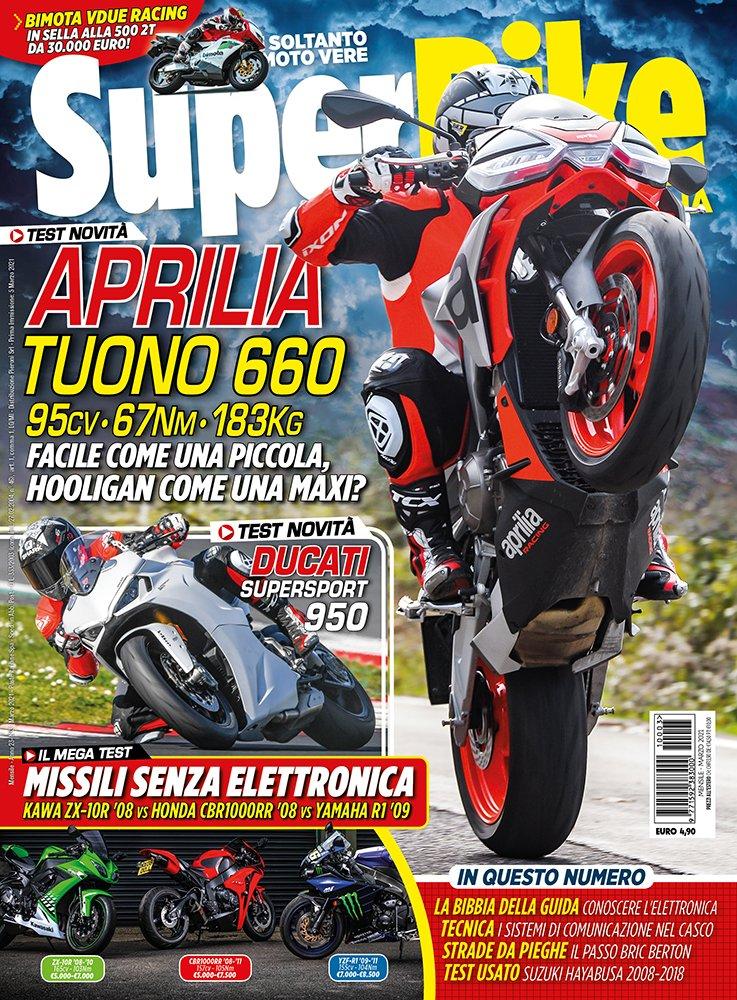 copertina SuperBike Italia marzo 2021