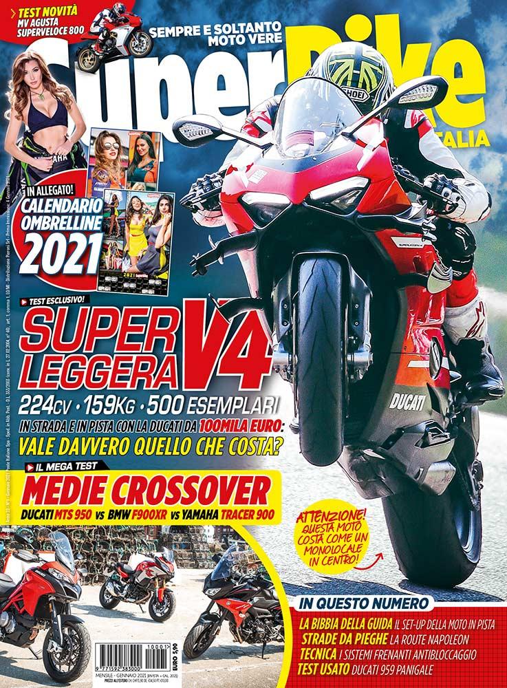 copertina SuperBike Italia gennaio 2021