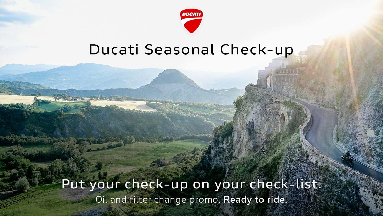 Ducati Seasonal Chek-up 2021
