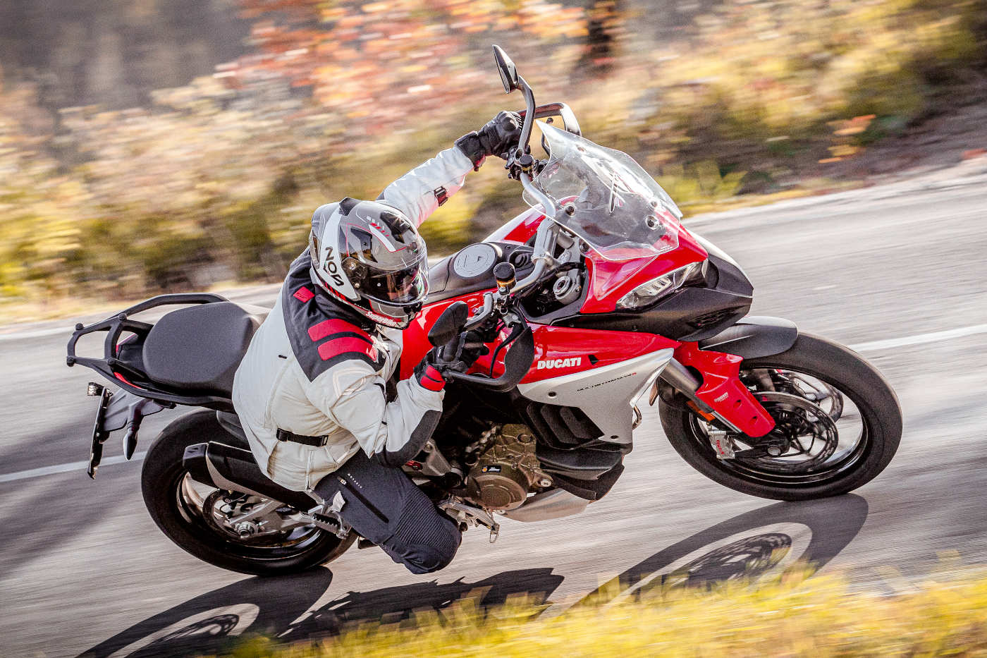 Prova Ducati Multistrada V4