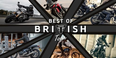 Triumph Best of British Tour