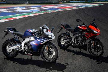 Aprilia RS 125 e Tuono 125 2021