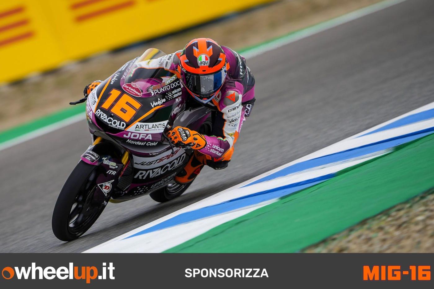 Wheelup sponsor Andrea Migno