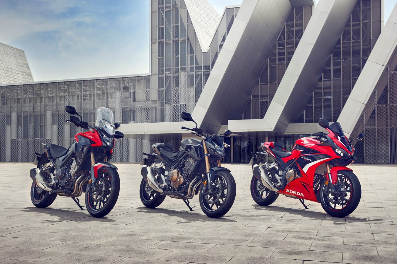 Gamma Honda CB500 2022