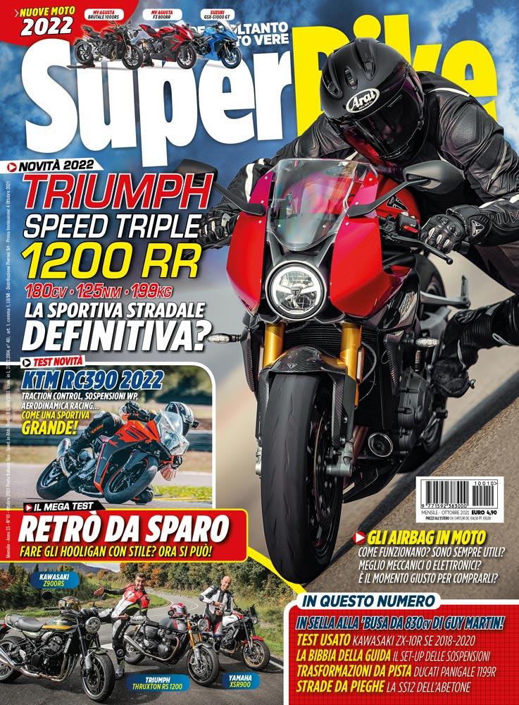 SuperBike Italia di ottobre 2021 - copertina