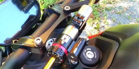 Ammortizzatore di sterzo Matris per Ducati Monster